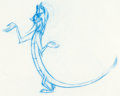 Animation Art:Production Drawing, Mulan Mushu Animation Drawing (Walt Disney, 1998)....