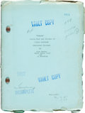 """Movie Posters:Horror, Freaks (MGM, 1932). Vault Copy Scripts (2) (Approx. 44 & 53, 8.5"""" X 11.5"""").. ... (Total: 2 Items)"""