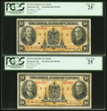Canadian Currency: , Canada Montreal, PQ- The Royal Bank of Canada $10 Jan. 2, 1935 Ch.# 630-18-04a Two Examples.. ... (Total: 2 notes)