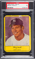 Baseball Cards:Singles (1950-1959), 1955 Stahl-Meyer Franks Mickey Mantle PSA Poor 1....