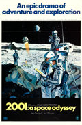 """Movie Posters:Science Fiction, 2001: A Space Odyssey (MGM, 1968). One Sheet (27"""" X 41"""") Style B,Robert McCall Artwork.. ..."""