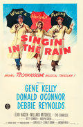 """Movie Posters:Musical, Singin' in the Rain (MGM, 1952). One Sheet (27"""" X 41"""").. ..."""