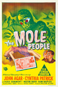 "Movie Posters:Science Fiction, The Mole People (Universal International, 1956). Australian OneSheet (27"" X 40"").. ..."