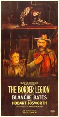 "Movie Posters:Western, The Border Legion (Goldwyn, 1918). Three Sheet (38.5"" X 78"").. ..."