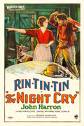 "Movie Posters:Drama, The Night Cry (Warner Brothers, 1926). One Sheet (27"" X 41"") StyleB.. ..."