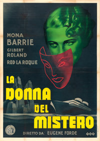 "Mystery Woman (20th Century Fox, 1936). Italian 4 - Fogli (54.5"" X 76.5"")"
