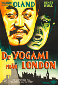"Movie Posters:Horror, Werewolf of London (Universal, 1935). Swedish One Sheet (29.25"" X39"") Fuchs Artwork.. ..."