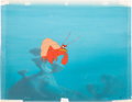 Animation Art:Production Cel, The Incredible Mr. Limpet Production Cel and MasterBackground Setup (Warner Brothers, 1964). ...