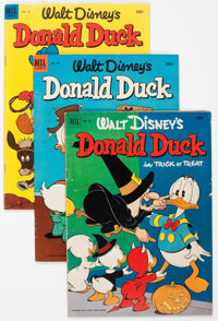 Donald Duck Group of 63 (Dell/Gold Key, 1952-67) Condition: Average VG/FN.... (Total: 63 Comic Books)