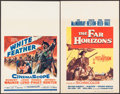 "Movie Posters:Western, White Feather & Other Lot (20th Century Fox, 1955). Window Cards (2) (14"" X 22""). Western.. ... (Total: 2 Items)"