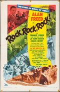 """Movie Posters:Rock and Roll, Rock, Rock, Rock (DCA, 1956). One Sheet (27"""" X 41""""). Rock andRoll.. ..."""
