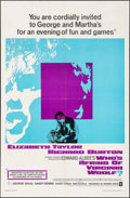 "Movie Posters:Drama, Who's Afraid of Virginia Woolf? (Warner Brothers, 1966). One Sheet (27"" X 41""). Drama.. ..."