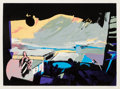 Prints:Contemporary, John Hultberg (1922-2005). Wide Window I, 1977. Lithographin colors. 24 x 32-7/8 inches (60.96 x 83.5 cm) (image). 26 x...