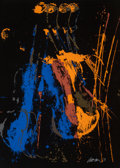 Prints & Multiples, Arman (1928-2005). Night Orchestra, circa 1978. Screenprint in colors on paper. 29-5/8 x 21-1/2 inches (75.2 x 54.6 cm) ...