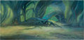 Animation Art:Painted cel background, Mr. Bug Goes to Town Painted Background (Max Fleischer,1941)....
