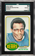 Football Cards:Singles (1970-Now), 1976 Topps Walter Payton #148 SGC 92 NM/MT+ 8.5....