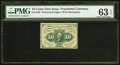 Fractional Currency:First Issue, Fr. 1240 10¢ First Issue PMG Choice Uncirculated 63 EPQ.. ...