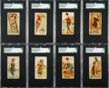 "Non-Sport Cards:Sets, 1889 N232 Kinney ""Surf Beauties"" Near Set (45/50). ..."