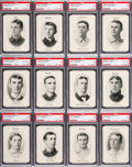 Baseball Cards:Sets, 1906 Fan Craze Baseball Complete Set (52). ...