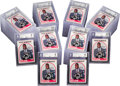 Basketball Cards:Lots, 1989 Hoops David Robinson Rookie #138 Beckett-Graded Collection(75)...
