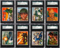 "Non-Sport Cards:Sets, 1951 Bowman ""Red Menace"" Complete Set (48). ..."