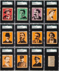 "Non-Sport Cards:Sets, 1935 R36 Fleer ""Cops & Robbers"" Complete Set (32/35) PlusEvidence Tab. ..."
