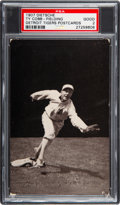 Baseball Cards:Singles (Pre-1930), 1907 PC765-1 Dietsche Post Cards Ty Cobb (Fielding) PSA Good 2 -New to The Hobby. ...