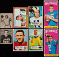 Football Cards:Lots, 1948-70 Multi-Brand Football Collection (100)....