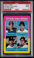 Baseball Cards:Singles (1970-Now), 1975 Topps Gary Carter - Rookie Catchers-Outfielders #620 PSA Mint9....