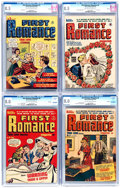 Golden Age (1938-1955):Romance, First Romance Magazine CGC-Graded File Copies Group of 5 (Harvey,1949-51).... (Total: 5 Comic Books)