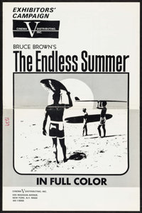 """The Endless Summer (Cinema 5, 1966). Uncut Pressbook (6 Pages, 12"""" X 18""""). Sports"""