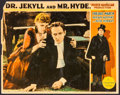 "Movie Posters:Horror, Dr. Jekyll and Mr. Hyde (Paramount, 1931). Lobby Card (11"" X 14"")....."