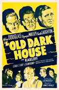 "Movie Posters:Horror, The Old Dark House (Universal, R-1939). One Sheet (27"" X 41"").. ..."