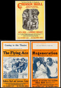 "Movie Posters:Black Films, Regeneration & Others Lot (Norman, 1923). Uncut Pressbooks (5)(Multiple Pages, 14"" X 22"" ,14"" X 18.5""). Black Films.. ... (Total:5 Items)"