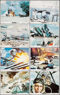 "Movie Posters:War, Tora! Tora! Tora! (20th Century Fox, 1970). Lobby Card Set of 8(11"" X 14""). War.. ... (Total: 8 Items)"