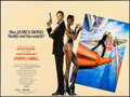 "Movie Posters:James Bond, A View to a Kill (United Artists, 1985). British Quad (30"" X 40"").James Bond.. ..."