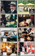 "Movie Posters:Crime, The Godfather & Other Lot (Paramount, 1972). Lobby Cards (8)(11"" X 14""). Crime.. ... (Total: 8 Items)"