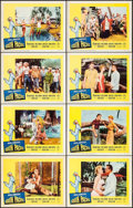 "Movie Posters:Musical, South Pacific (20th Century Fox, R-1964). Lobby Card Set of 8 (11""X 14""). Musical.. ... (Total: 8 Items)"