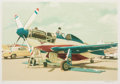 Prints:Contemporary, Tom Leo Blackwell (b. 1938). Red, White & Blue Mustang,circa 1980. Lithograph in colors. 17 x 24-7/8 inches (43.18 x 63...
