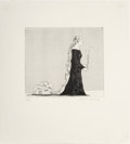 Prints:Contemporary, David Hockney (b. 1937). The Older Rapunzel (from the series ofBrothers Grimm, Six Fairy Tales), 1969. Etching with aqu...