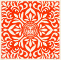 Prints:Contemporary, Shepard Fairey (b. 1970). Japanese Fabric Pattern Set (twoworks), 2009. Screenprint. 18 x 18 inches (45.7 x 45.7 cm...(Total: 2 Items)
