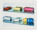 Photographs:Digital, Damien Hirst (b. 1965). Six Pills, 2005. Digital pigmentprint. 19-5/8 x 26-5/8 inches (49.8 x 67.6 cm) (image). 26-1/2 ...
