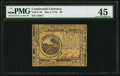 Continental Currency May 9, 1776 $6 PMG Choice Extremely Fine 45