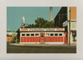 Prints:Contemporary, John Baeder (b. 1938). O'Connor's Diner, 1980. Screenprintin colors. 16-3/4 x 25 inches (42.55 x 63.5 cm) (image). 22 x...