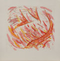 Prints:Contemporary, Louisa Chase (1951-2016). St. Joan Variant I (Fire), 1984.Aquatint etching in colors. 23-1/2 x 25-1/2 inches (59.69 x 6...