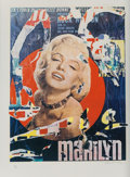 Prints:Contemporary, Mimmo Domenico Rotella (1918-2006). Marilyn 3, 1979.Screenprint in colors. 26-5/8 x 20-1/4 inches (67.63 x 51.43 cm)(i...