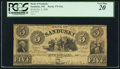 Obsoletes By State:Ohio, Sandusky, OH - Bank of Sandusky $5 Oct. 2, 1848 G6a. ...