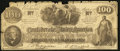 Confederate Notes:1862 Issues, CT41 $100 1862.. ...
