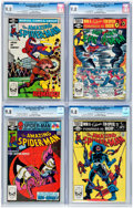 Modern Age (1980-Present):Superhero, The Amazing Spider-Man #221-223 and 225 CGC-Graded Group (Marvel,1981-82) Condition: NM/MT 9.8.... (Total: 4 Comic Books)
