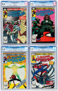 Modern Age (1980-Present):Superhero, The Amazing Spider-Man CGC-Graded Group of 4 (Marvel, 1982-83)Condition: CGC NM/MT 9.8.... (Total: 4 Comic Books)